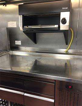 Stainless Steel Kitchen Equipment Inside La Tasca Restaurant